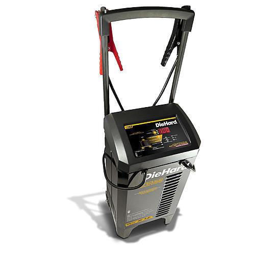 DieHard Gold 250A Wheeled Battery Charger & Engine Starter (meets CA or OR SPEC)