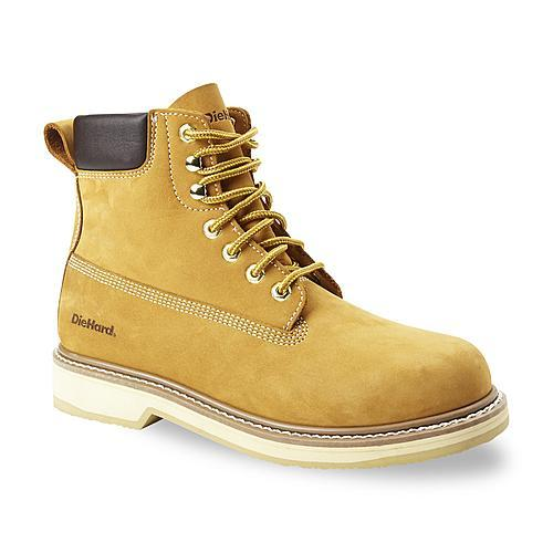 "DieHard Men's Classic 6"" Wheat Soft Toe Work Boot"