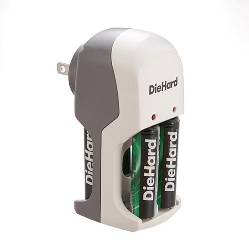 DieHard 41-1169 Overnight Charger with 2AA NiMh Batteries