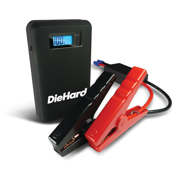 DieHard Compact Lithium Jump Starter + Smart Phone Charger