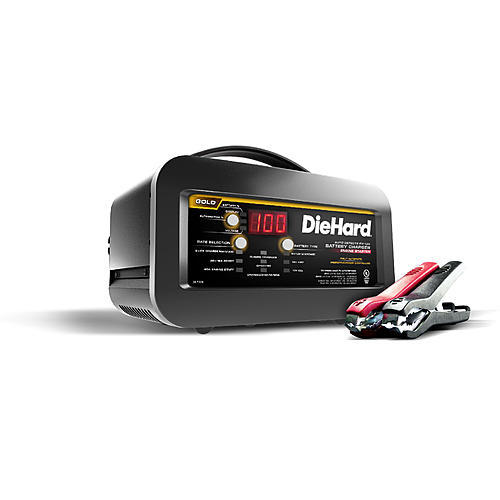 DieHard Gold 80A Shelf Battery Charger & Engine Starter (meets CA or OR SPEC)