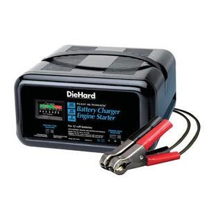 DieHard Die Hard 71222 Automatic Battery Charger & Engine Starter, 10/2/50 Amp