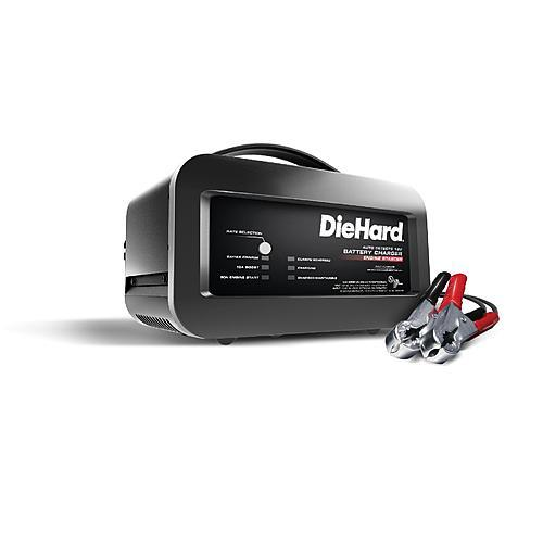 DieHard 50A Shelf Battery Charger & Engine Starter (meets CA or OR SPEC)