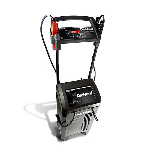 DieHard Platinum 275A Wheeled Battery Charger & Engine Starter (meets CA or OR SPEC)