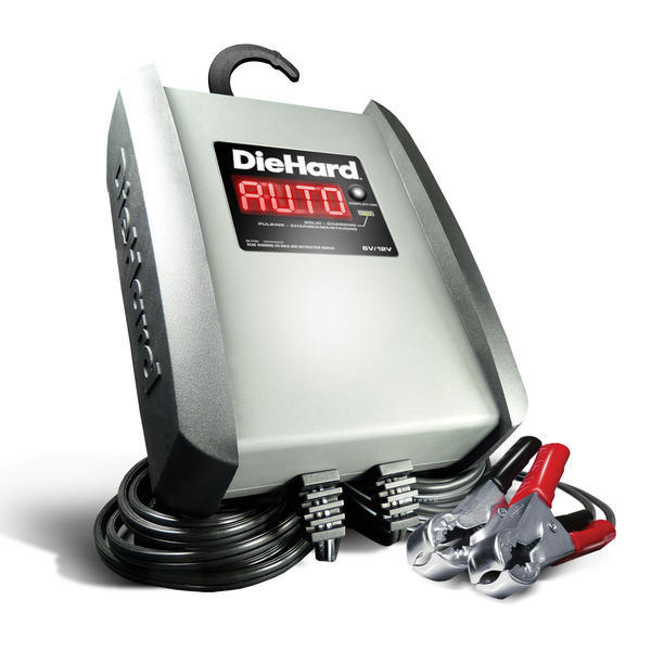 DieHard 6A Shelf Battery Charger (meets CA or OR SPEC)