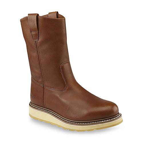 DieHard Men's SureTrack Brown Wellington Soft Toe Work Boot