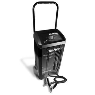 DieHard 71331 Smart Wheel Battery Charger & Maintainer (12 Volt 2 6A Charge 40A Boost 200A Jump Starter) (See Description)