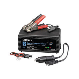 DieHard 71219 Automatic Battery Charger/Maintainer with Float Mode Monitoring
