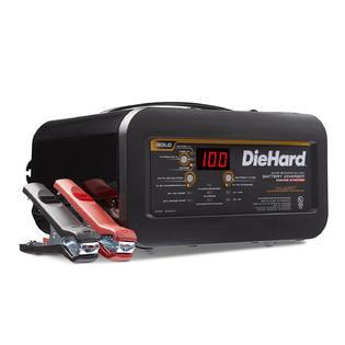 DieHard 71326 Gold Shelf Smart Battery Charger Engine Starter (6/12 Volt 2 6A Charge 12 30A Boost  (See details for more info.)